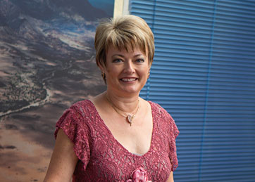 Magda Nel, CA (Namibia), International Liason Partner